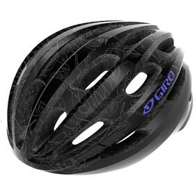 Giro Isode Cykelhjelm, black floral